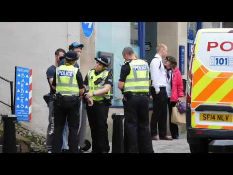 Police Stop Inverness