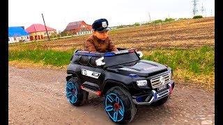 Police Senya and  Broken Truck
