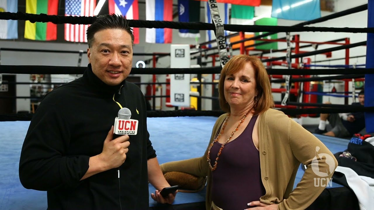 kathy duva interview at kovalev media workout ucn exclusive youtube