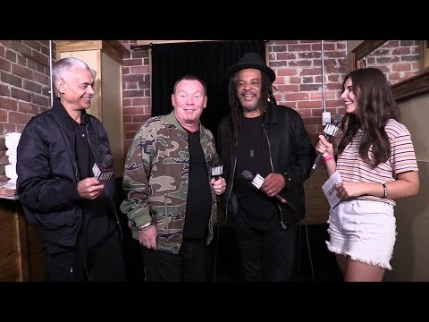 Interview with UB40 (featuring Ali Campbell, Astro, and Mickey Virtue)
