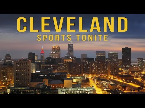 Cleveland Sports Tonite is here with jokes, guests and poetry: Watch the premiere of our talk show