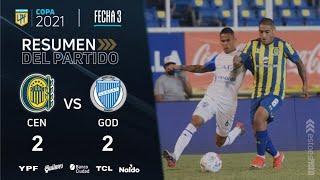 Copa De La Liga   Fecha 3   resumen de Rosario Central - Godoy Cruz