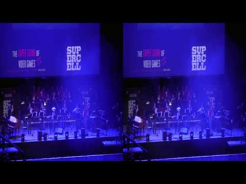 The Super Sound of Video Games - Second Reality, Assembly 2013 - in stereoscopic 3D