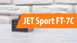 Распаковка фитнес-браслета JET Sport FT-7C/ Unboxing JET Sport FT-7C