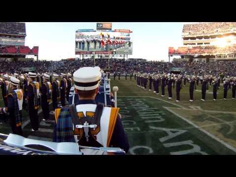 Notre Dame Band Music City Bowl 2014