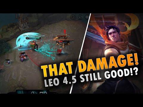 OMG THAT DAMAGE💥!! Vainglory 5v5 Gameplay - Leo |WP| Top Lane Gameplay