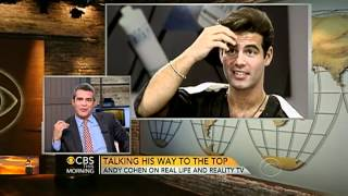 Andy Cohen cuts locks for makeover in 1994