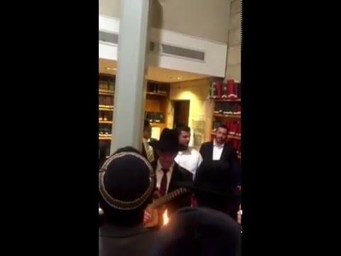 Havdala en Aish HaTorah Yeshivá