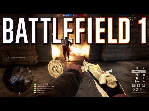 Battlefield 1: Gold Assault Attack (PS4 Pro Multiplayer Gameplay)