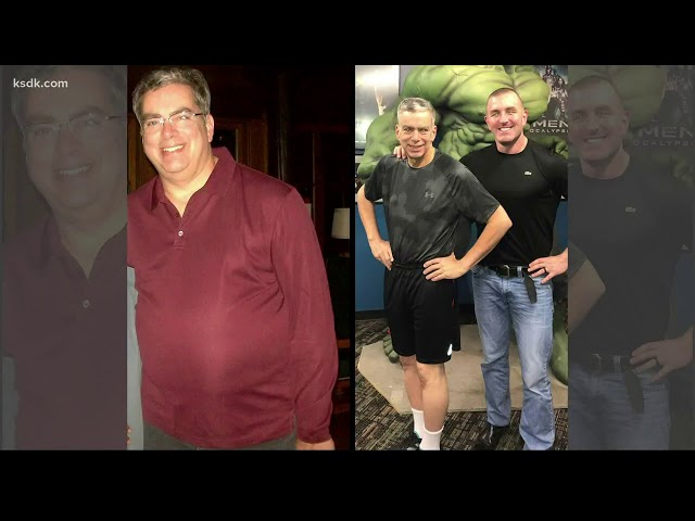Kevin's lost 100lbs!