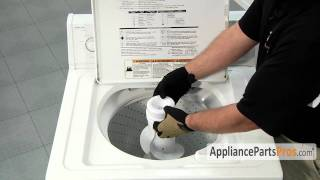 Washer Fabric Softener Dispenser (part #63580) - How To Replace