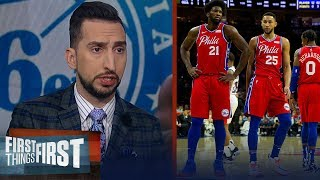 Joel Embiid is the better option for 76ers to build around — Nick Wright | NBA | FIRST THINGS FIRST