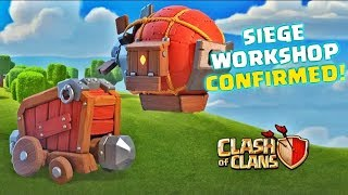Siege Machines Confirmed! | Introducing Siege Machines | Clash of Clans Town Hall 12 Update!