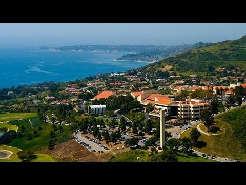 Pepperdine Malibu Campus Map.Pepperdine Tour My First Time On Campus 8 20 12 Youtube