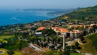 Pepperdine Tour- My First Time on Campus! (8/20/12)