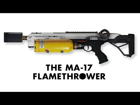 [Payday 2] New Free MA-17 Flamethrower