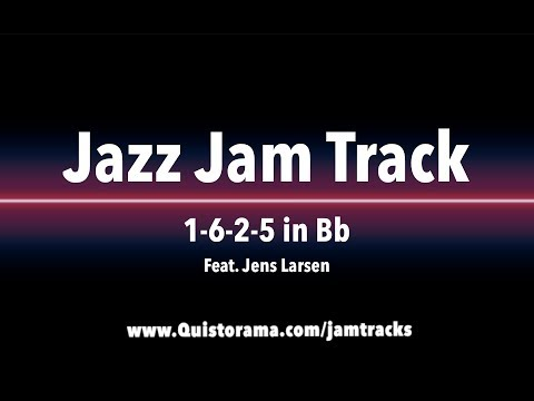 Bb Jazz Backing Track - Medium Swing (1-6-2-5)