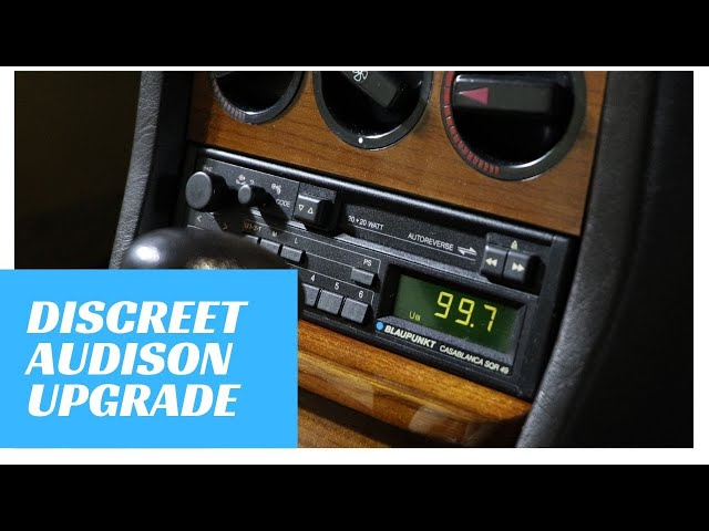 Mercedes Retro Audison Upgrade