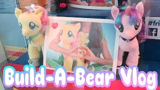 Gambar cover Build-a-Bear vlog: Getting 4 My Little Ponies Stuffed! ✨