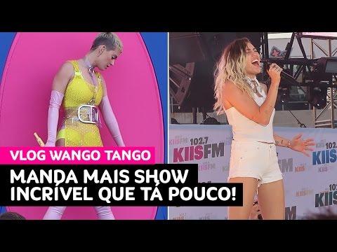 Vlog: Katy Perry, Miley, Niall, Maroon 5 e Backstreet Boys bem na nossa frente!! • Karol Pinheiro