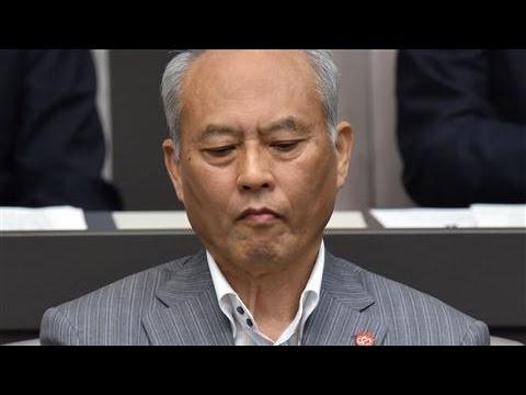 Tokyo Gov. Yoichi Masuzoe Offers to Resign