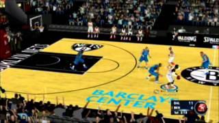 NBA 2k13 Wii Brooklyn Nets vs Dallas Mavericks