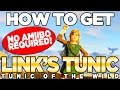 How to Get the Green Tunic, TUNIC OF THE WILD - COMPLETE! Breath of the Wild | Austin John Plays