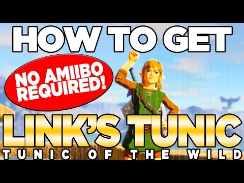 How to Get the  TUNIC OF THE WILD - COMPLETE! Breath of the Wild
