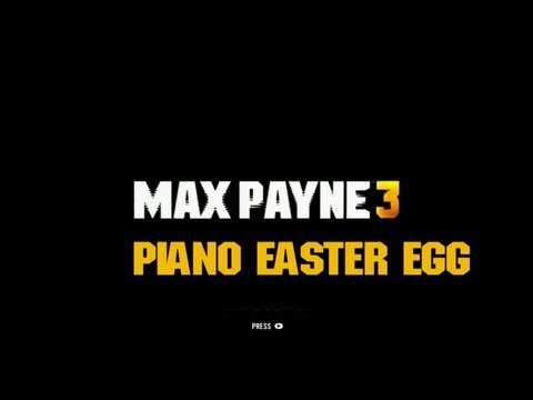Max Payne 3 - Piano Easter Egg