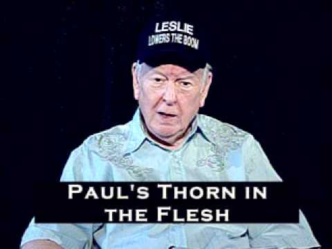 Leslie Hale: Paul's Thorn in the Flesh