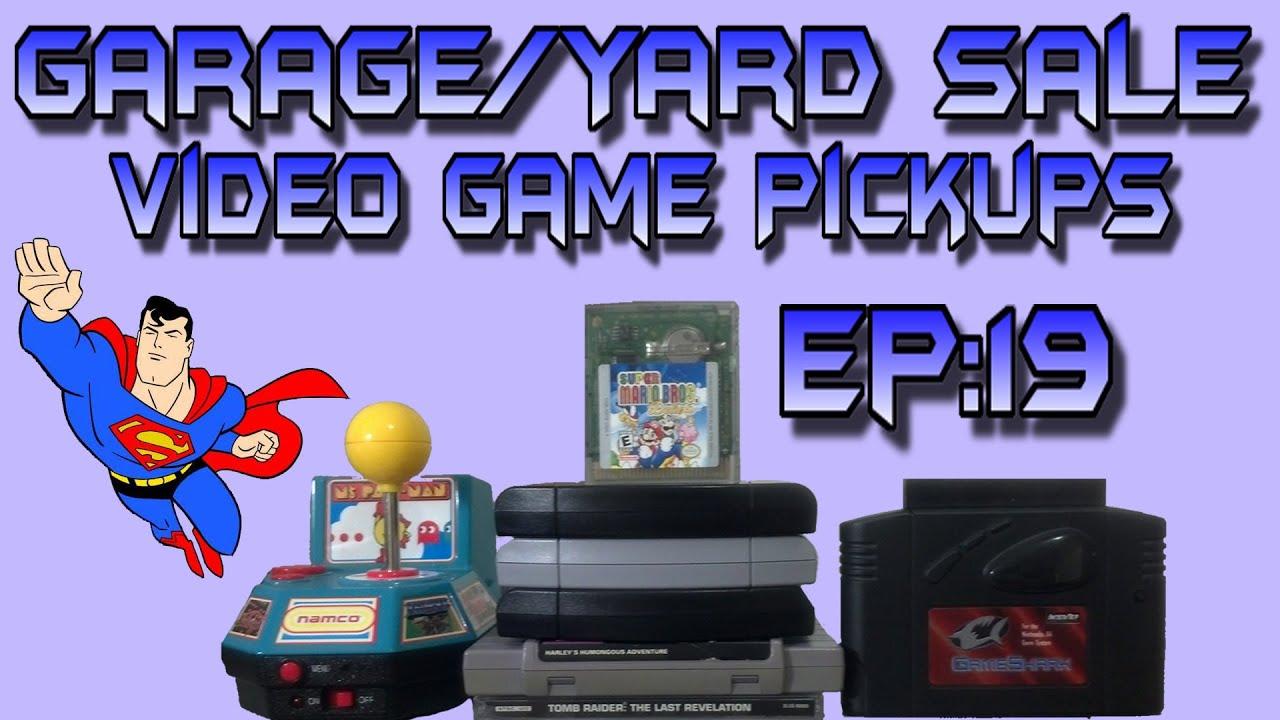 Garage Yard Sale Video Game Pickups Ep 19 Youtube