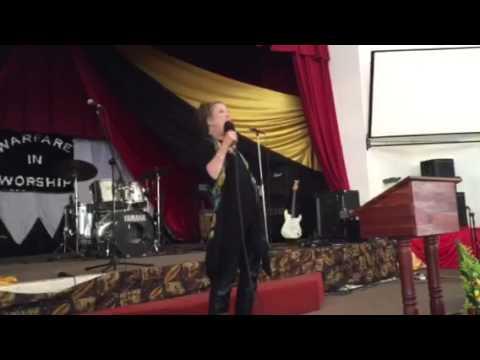 Preaching in Bulawayo, Zimbabwe