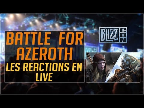 Cinématique BATTLE FOR AZEROTH - Réactions de Public de la BLIZZCON