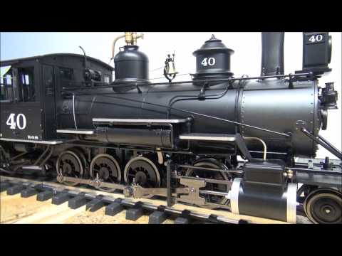 Model Railway Train Track Review: Model Railroad Track Plans-Bachmann C-19 G Scale Locomotive