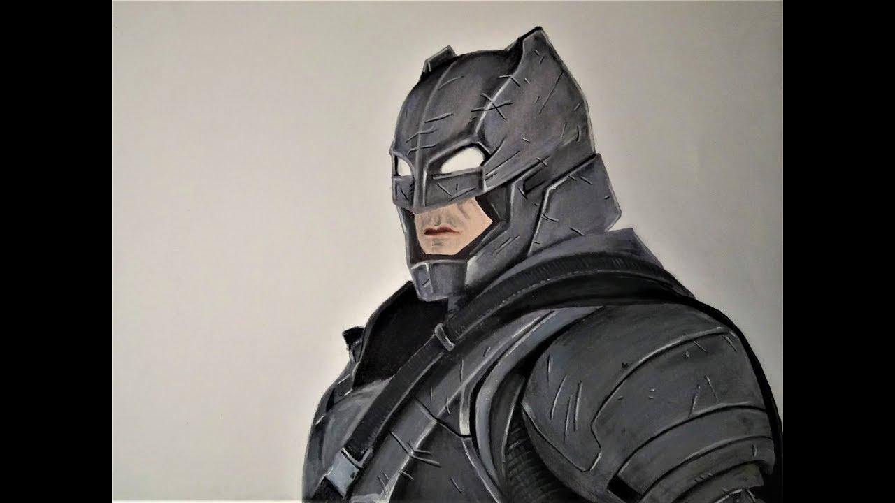 Dessin De Batman Realiste Draw Realistic Batman Youtube