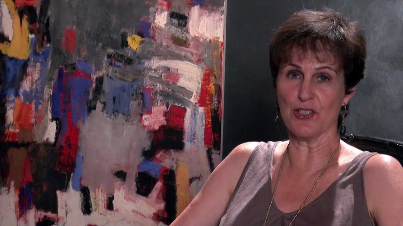 Julie Schumer  Abstract Expressionist Painter  YouTube