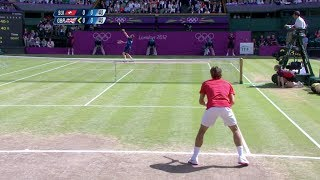 [HD] Roger Federer vs. Andy Murray Olympic 2012 Final HIGHLIGHTS