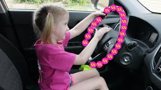 We are in the Car Song and more nursery rhymes and kids songs by Vika Asterisk
