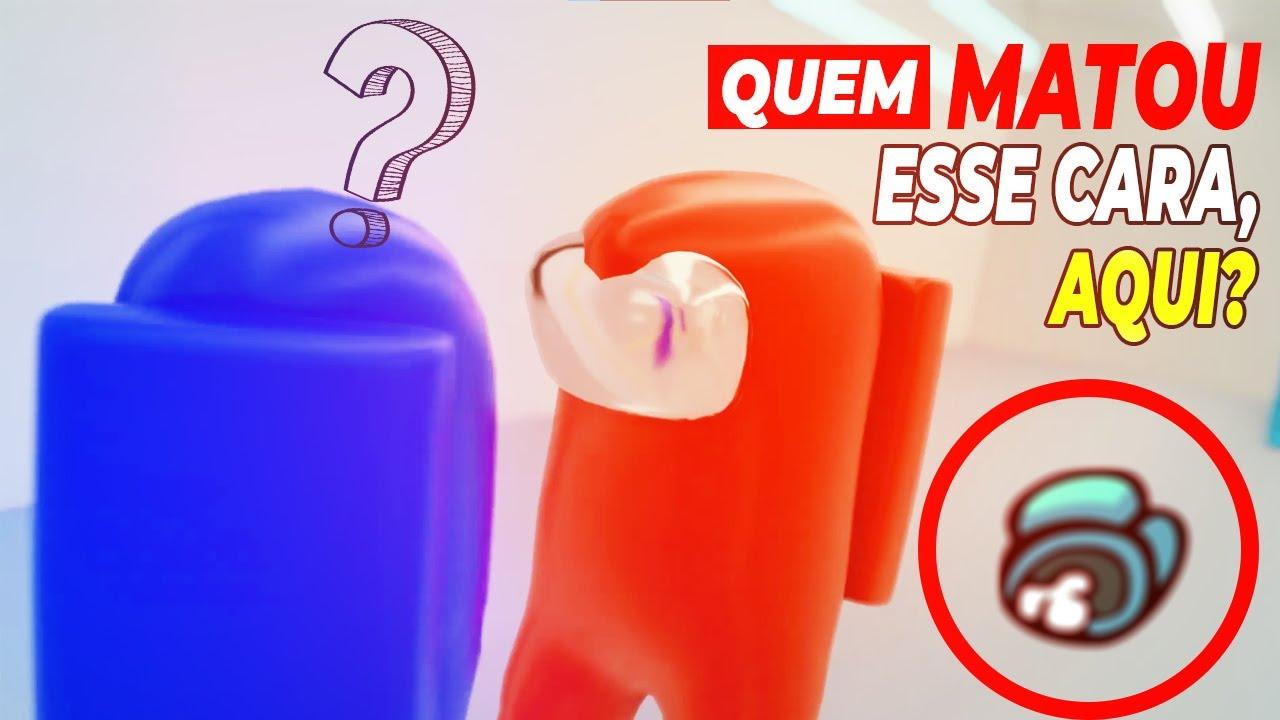 AMONG US - TROPA DE ELITE - QUEM MATOU ESSE CARA AQUI? | PARÓDIA EP.1