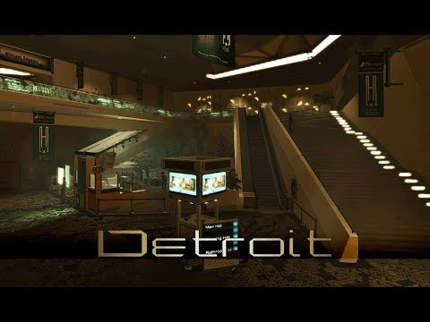 Deus Ex: Human Revolution - Detroit Convention Center (1 Hour of Music)