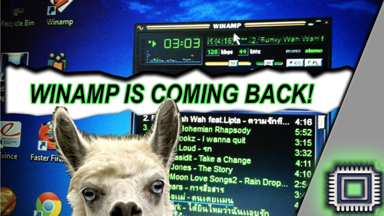 WINAMP 6 It's Coming back 2019 (Rejoice, llama-whipping fans)