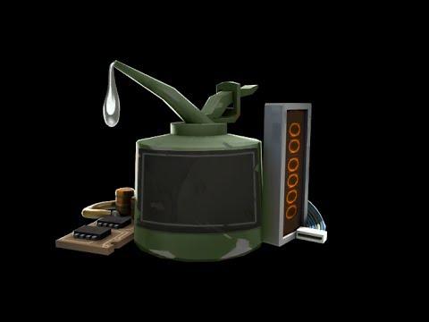 Team Fortress 2 - Crafting the Specialized killstreak RL kit [1080p HD]