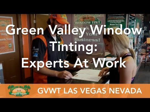 Green Valley Window Tinting Las Vegas - Home & Automotive Window Tinting Experts