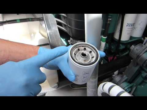 How to... Change a diesel engine fuel filter | Motor Boat & Yachting