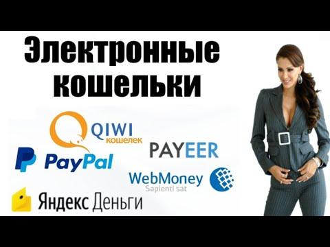 Какой электронный кошелёк выбрать? PAYEER, PAYPAL,  Яндекс.Деньги, КИВИ-кошелёк, Вебмани, Епайментс