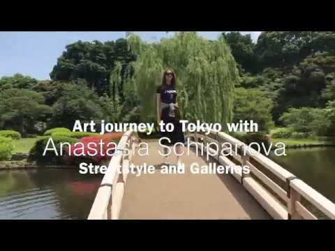 Art journey to Tokyo and street style shooting