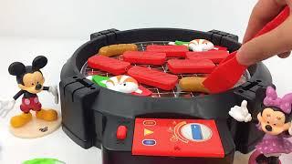 迪士尼米老鼠和米妮过家家烧烤大餐美食大作战 国语720P