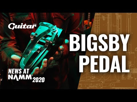 A Bigsby in a pedal!? Up close with Gamechanger & Bigsby's top secret new collab #NAMM2020