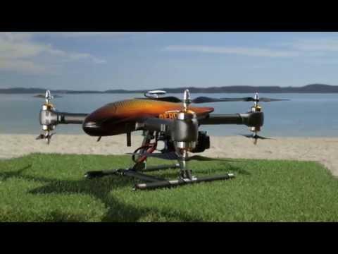 "AeroKontiki Fishing Drone Promotional Video - ""fishing just got cleverer"""