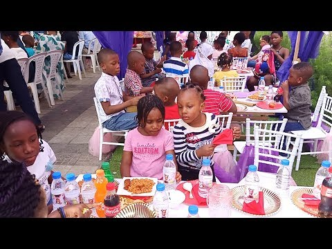 WHAT A CHILDREN'S PARTY IN NIGERIA LOOKS LIKE